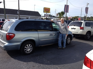 Jim Skolburg from Tampa with Chrysler Town&Country