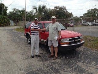 Congrats Slayton on your Chevy Blazer!